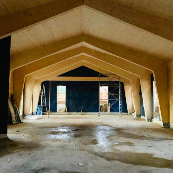 Sala polivalente – Norcia – interni 1